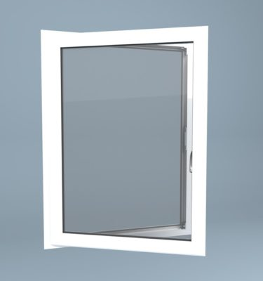 uPVC Window Left Open