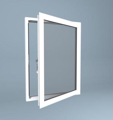 uPVC Window Right Open