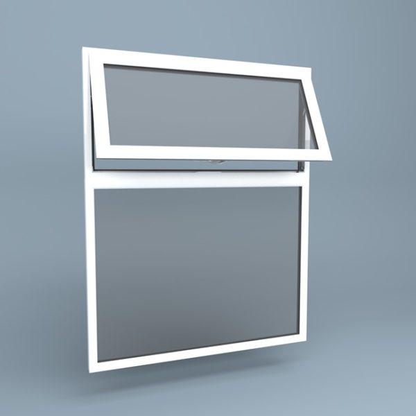 uPVC Window Vent Over Fixed
