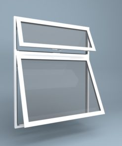 uPVC Window Vent Over Top Hung