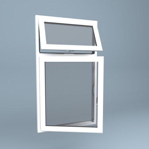 uPVC Window Vent Over Side Hung Left