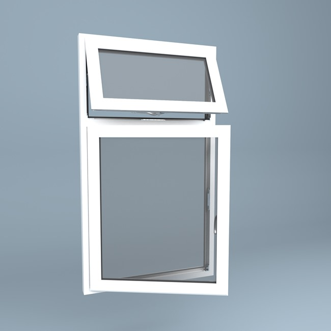uPVC Window Vent Over Side Hung Left