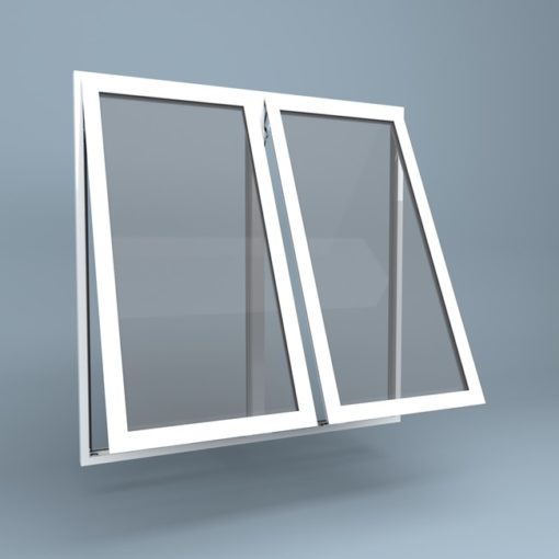 uPVC Window Top Hung Left Top Hung Right