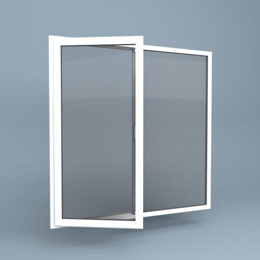 uPVC Window Left Open Fixed Right