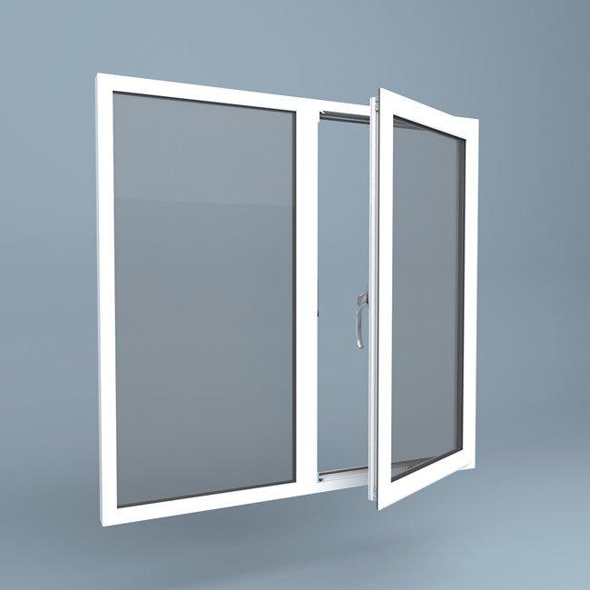 uPVC Window Right Open Fixed Left