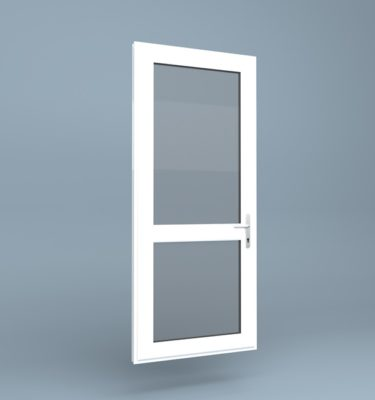 uPVC Door - Mid Rail