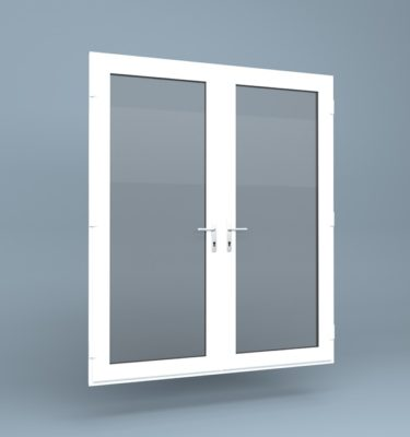 uPVC French Doors Full Height