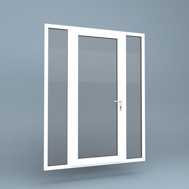 uPVC Door Full Height Side Screens