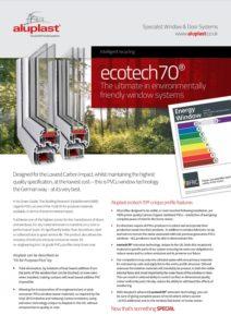 Aluplast Ecotech 70