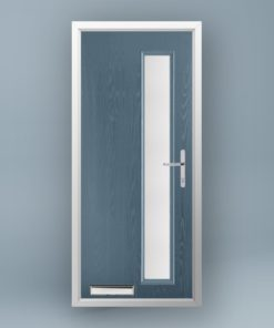 Mondrian Slate Grey Composite Door