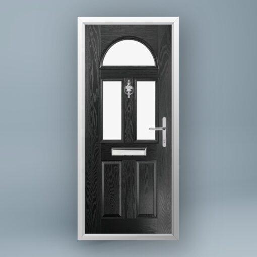 Monet Jet Black Composite Door