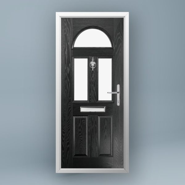 Monet Jet Black Composite Door
