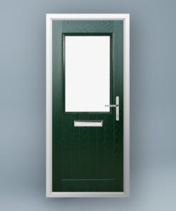Turner Pine Green Composite Door