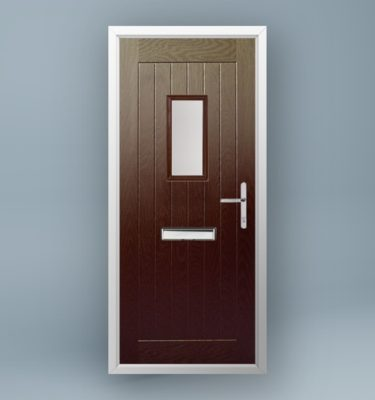 Turner Rosewood Composite Door