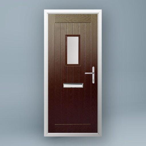 Turner Rosewood Composite Door