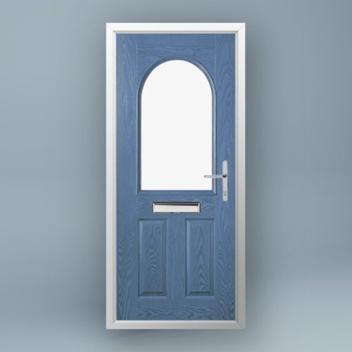 Whistler Larkspur Blue Composite Door