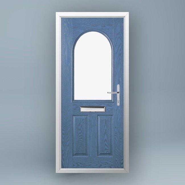Whistler Larkspur Blue Composite Door
