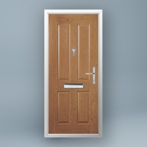 Cezanne Golden Oak Composite Door