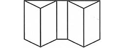 Bifold Door 4-2-2 Standard