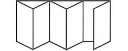 Bifold Door 5-4-1 Standard