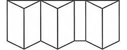 Bifold Door 6-2-4 Mirror