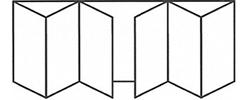 Bifold Door 6-3-3 Standard